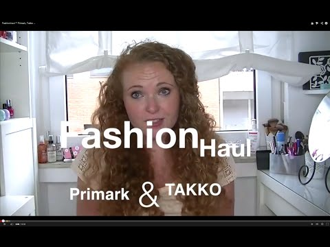 Fashion haul °° Primark, Takko ...