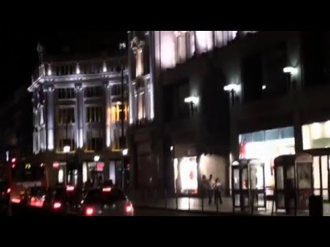 London Night Nightlife Floodlight City Urban Life Clubs Pubs Shopping UK by BK Bazhe