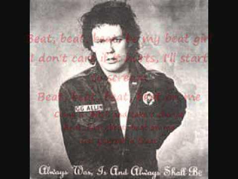 Gg Allin - Beat, Beat, Beat