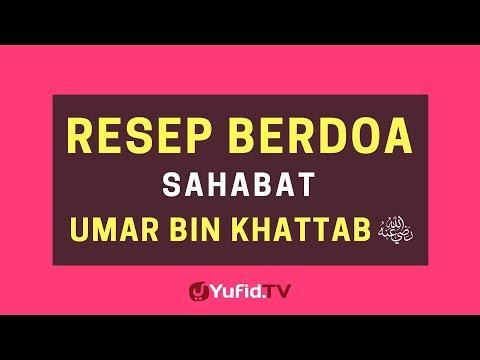 Resep Berdoa Sahabat Umar Radhiallahu 'Anhu – Poster Dakwah Yufid TV