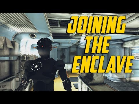 Fallout 76 - Joining The Enclave
