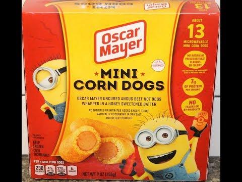 Oscar Mayer: Mini Corn Dogs Review