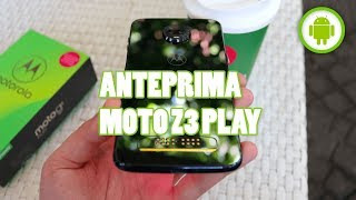 MOTOROLA MOTO Z3 PLAY: sempre lui, ma con un omaggio - ANTEPRIMA