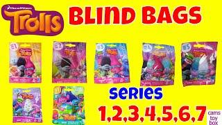 Trolls Blind Bags Series 1 2 3 4 5 6 7 Opening Dreamworks Toys Kids Fun