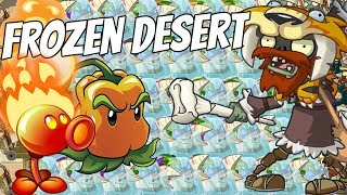Ice Age Hunter The King Of Frozen Desert  Plants Vs Zombies 2 Epic Mod