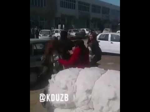 Uzbek qizlar jangi.