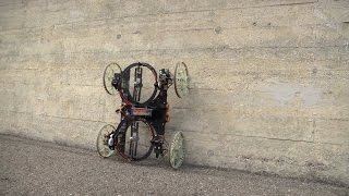 Watch This Robot Drive Up Walls!