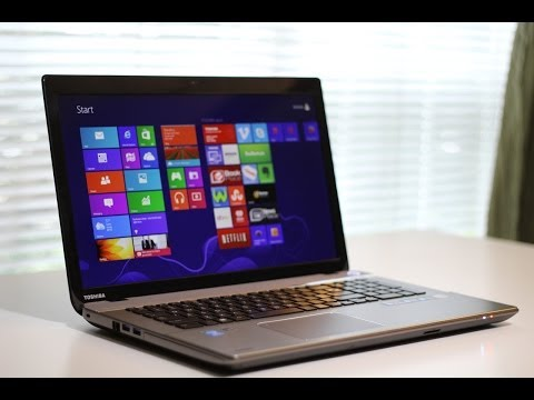 Toshiba Satellite P75-A7200 / A7100 Laptop Review
