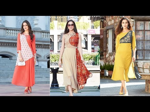 New stylish kurti design || Georgette kurti designs 2018