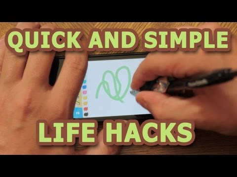 Quick and Simple Life Hacks - Part 1