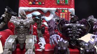 Christmas with Megatron and Shockwave