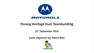 21st Sept 2016 Motorola Teambuilding