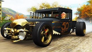 DRIFTING THE HOT WHEELS BONE SHAKER In Forza Horizon 4