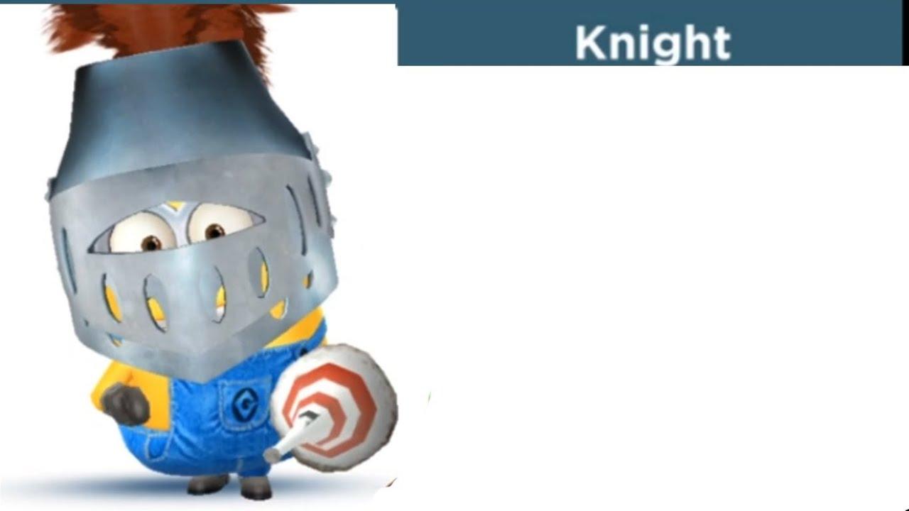 Despicable Minion Rush Knight Costume