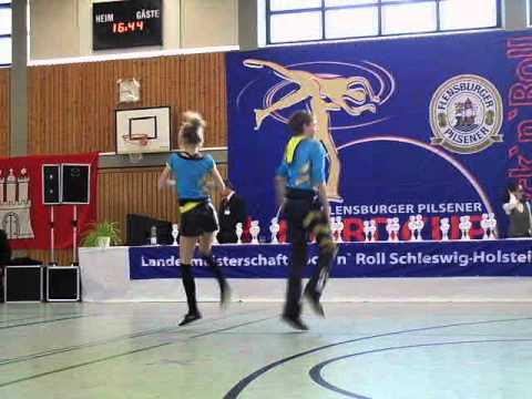 Emilie Krogh & Anders Strøm Møller - Landesmeisterschaft Schleswig-Holstein 2011