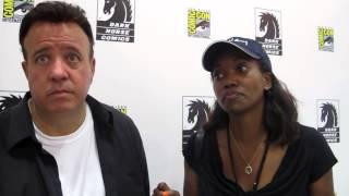 SDCC 2014: Tony Puryear and Erika Alexander talk Concrete Park