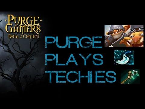 Dota 2 Purge plays Techies