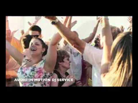AUDIO IN MOTION DJ SERVICES - Your Wedding Specialists