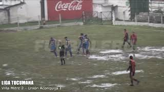 LIGA TUCUMANA: Villa Mitre doblegó a Unión Aconquija en el Gigante