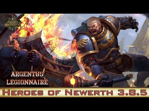 Heroes of Newerth Avatar Spotlight - Argentus Legionnaire