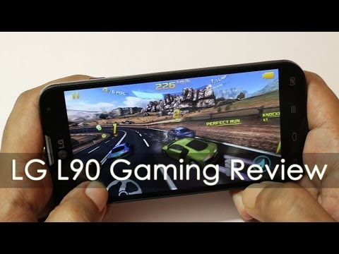 LG L90 Mid Range Android Phone Gaming Review