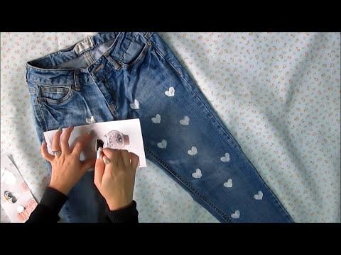 Decora tus jeans! DIY Valentines Day