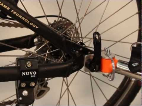Connecting your Bicycle Trailer: Quick Release - YouTube