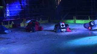 Robot Wars Winter Tour 2013 - Dystopia vs Manta vs Thor vs Gravity 5.3D vs Meggamouse