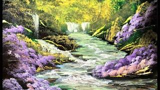Spray Paint Art  The Joy Of Spray  Spray Painting Forest And Stream