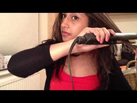How to curl your hair with a flat iron/straightener - ghd