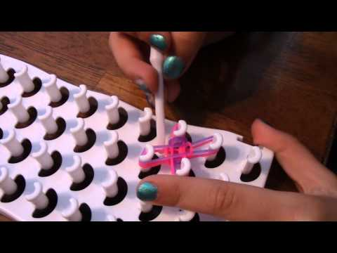 Double Cross Fishtail with Fun Loom