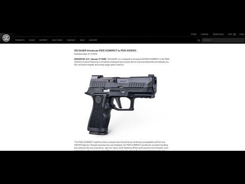 New Products from SIG Sauer: Gun Talk Radio  12019 C