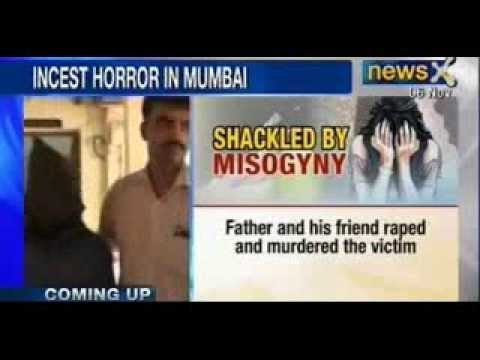 Mumbai Incest Rape Horror : Father Arrested For Raping And Murdering Daughter - Newsx video
