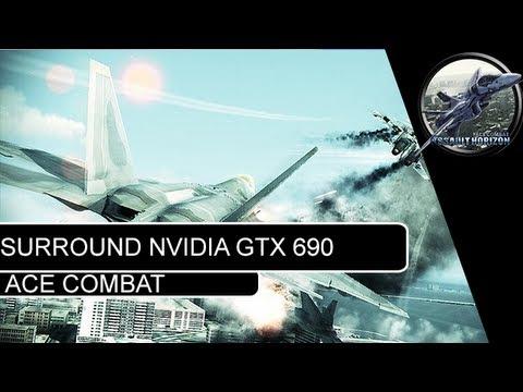 Ace Combat assalt horizon Surround Nvidia