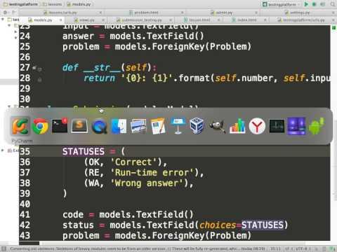 Sqlite3 и Python. Django: urls, views, templates, models, admin