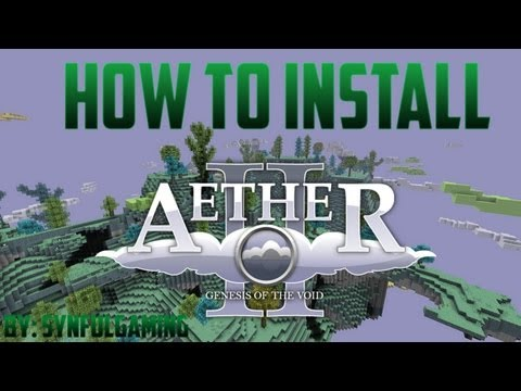How to Install/Fix The Aether 2 Mod on Technic Launcher