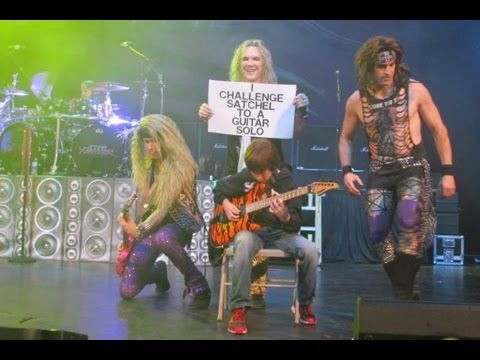***explicit*** 11 Year Old Aidan Fisher With Steel Panther video