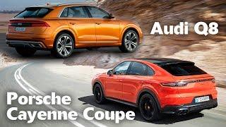 2020 Porsche Cayenne Coupe VS 2019 Audi Q8 - Luxury Coupe SUV Showdown! Exterior, Interior & Sound