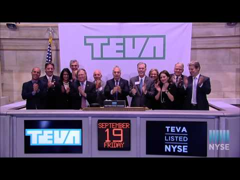 TEVA Pharmaceutical Industries Limited Visits the NYSE