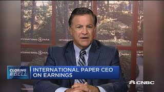 International Paper CEO: Secondary trade impact big issue for us