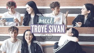 Download Lagu TROYE SIVAN REACTS TO HIS FANS | cleotoms with TROYE SIVAN Gratis STAFABAND