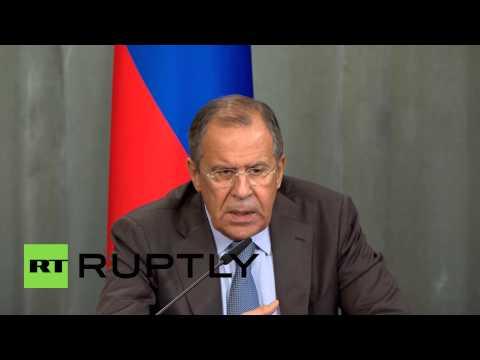 Russia: 'Rumours of Russian invasion follow militia advances in E. Ukraine' - Lavrov