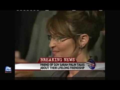 Greta talks with Palin
