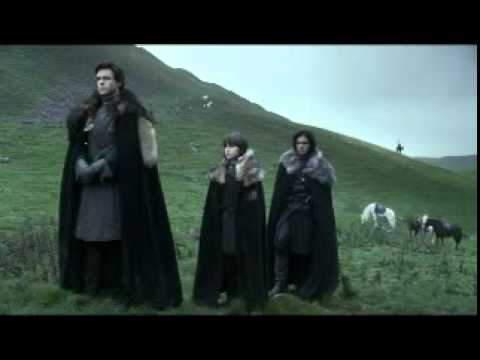 Game of Thrones: Eddard Stark Beheads a Deserter S01E01