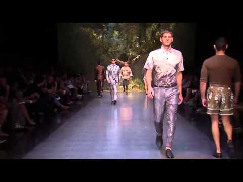 Dolce & Gabbana Men's Spring/Summer 2014 Full Fashion Show.