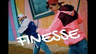 Download Lagu FINESSE (Remix) - Bruno Mars ft. Cardi B (90s DANCE VIDEO) Choreo by Jamie Bennett Gratis STAFABAND