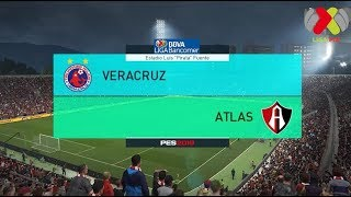 PES 2018 | Veracruz vs Atlas | Jornada 12 Liga Mx | Gameplay PC