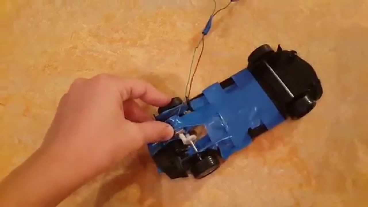 Как сделать мотор на пульте 970