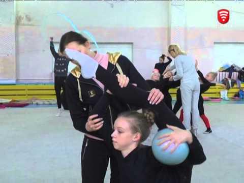 Телеканал ВІТА новини 2015-10-27 Вінницькі гімнастки   найкращі в Україні