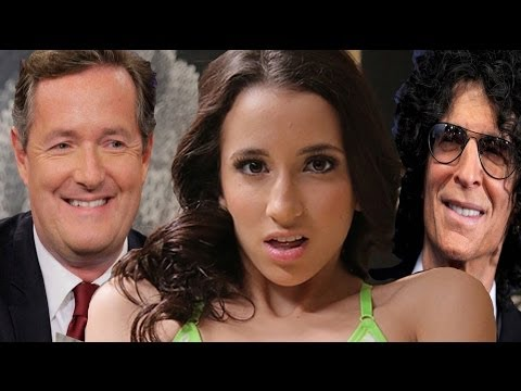 Belle Knox, Piers Morgan, Howard Stern and Media Blow Hards with Mandy Stadtmiller